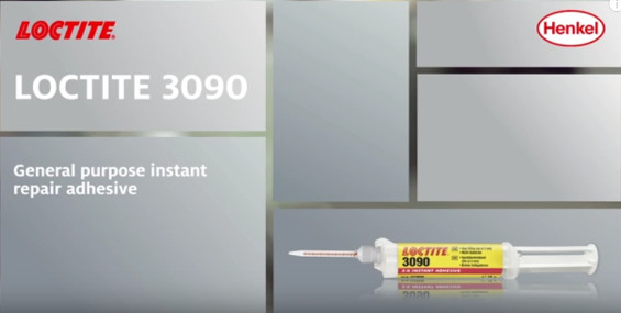 LOCTITE 3090 - The fast curing instant adhesive